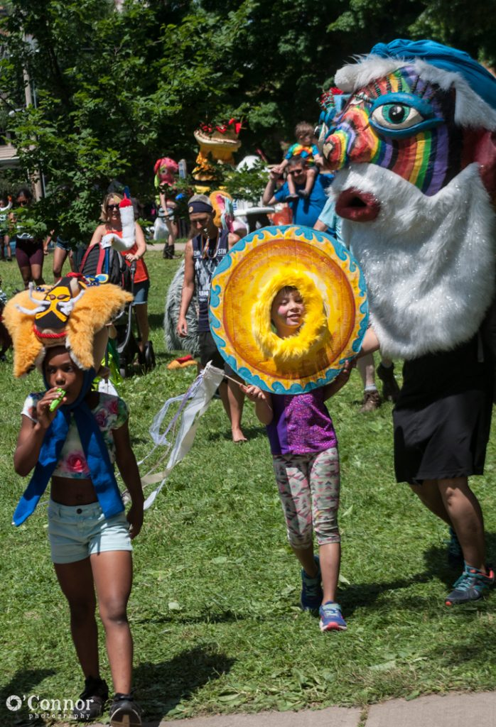 KidsArt Parade at ComFest 2018 by O'Connor Photography