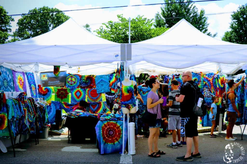 Vendor at ComFest 2018 by Applewater Designs