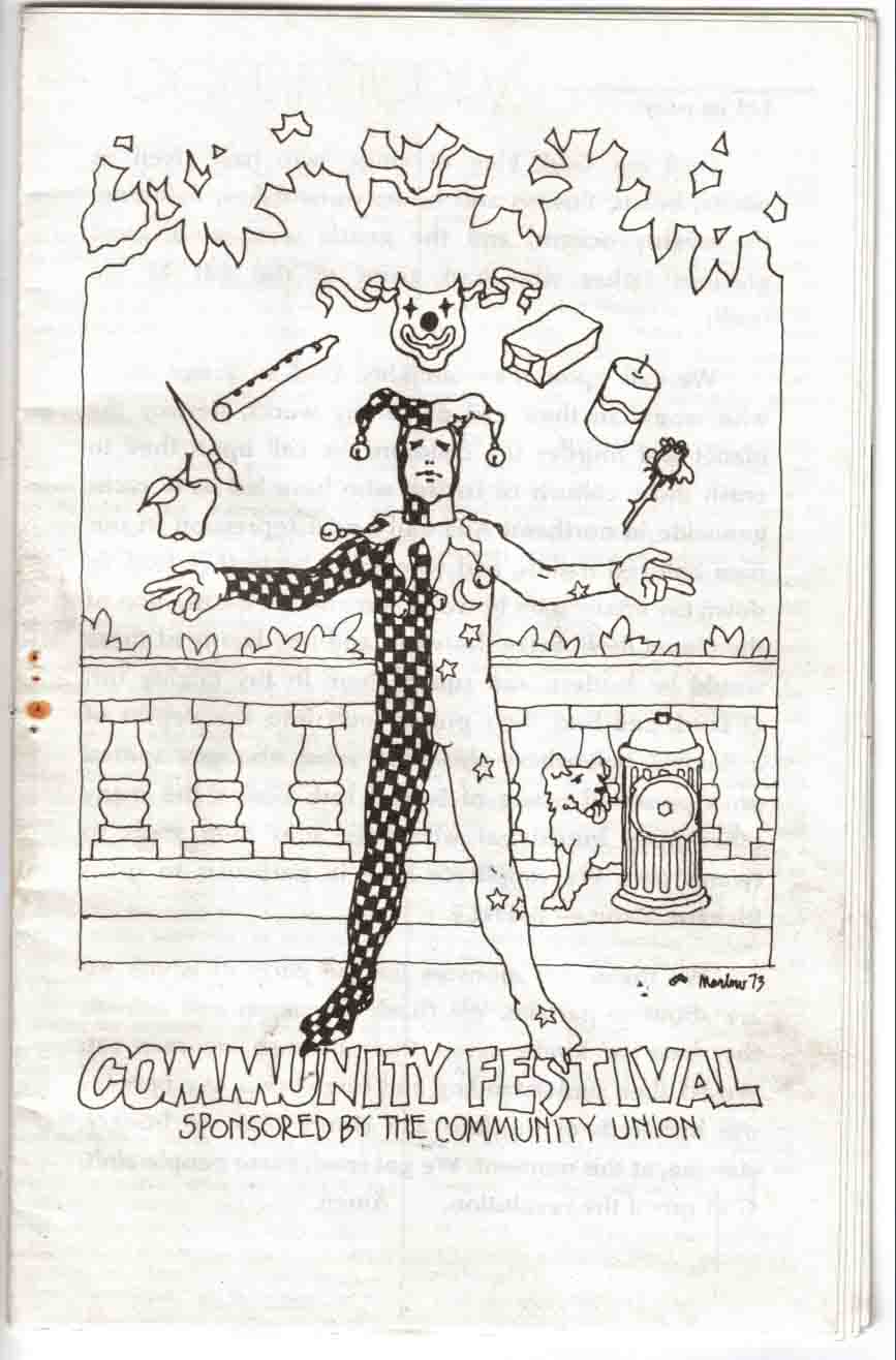 1973 Comfest Program-1