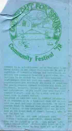 1978 Comfest Program?-1