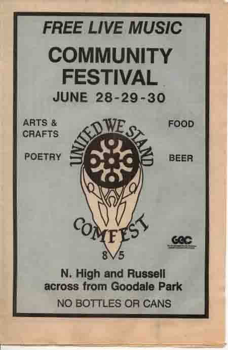 1985 Comfest Program-1