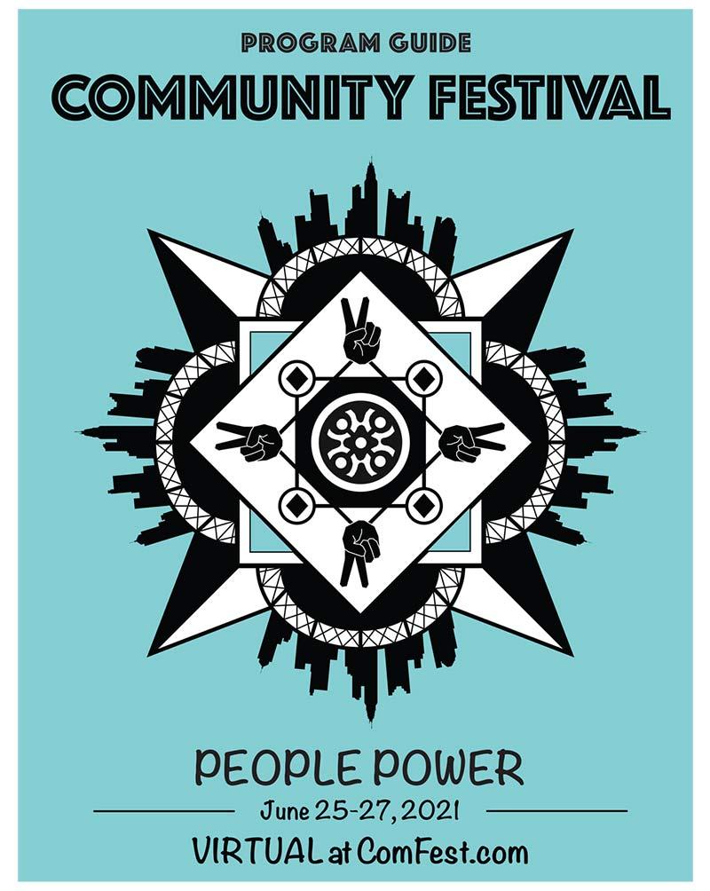 comfest 2021 program guide cover